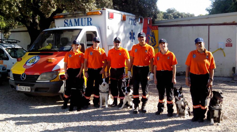 Unidad Canina de Protección Civil de Moralzarzal