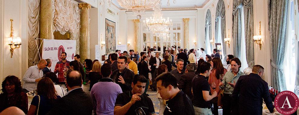 Zalea organiz el i sal n del vino en el hotel ritz ayuntamiento de moralzarzal - Spa moralzarzal ...