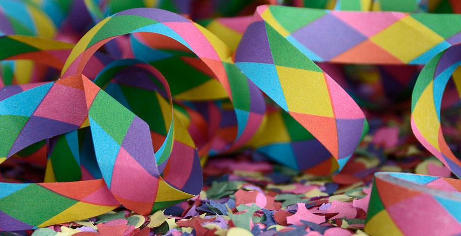 Confetti de colores