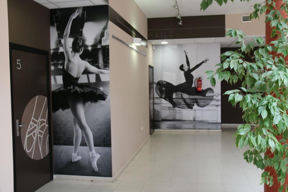 Interior del Centro Cultural de Moralzarzal