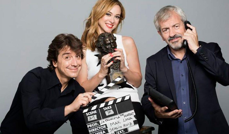 Javier Veiga, Marta Hazas y Carlos Sobera