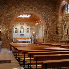 Interior de la Iglesia de San Miguel Arcángel de Moralzarzal