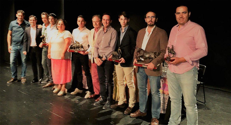 Entrega de los Premios Frascuelo 2016
