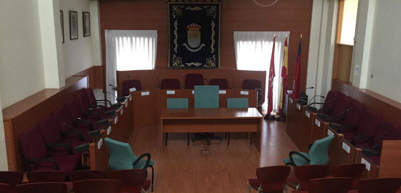 Plano general del Salón de Plenos de Moralzarzal