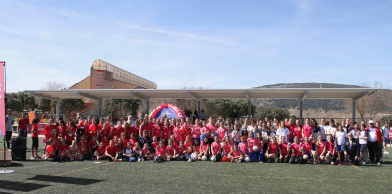 Las participantes del tonrneo ed Fútbol en Moralzarzal de 2017
