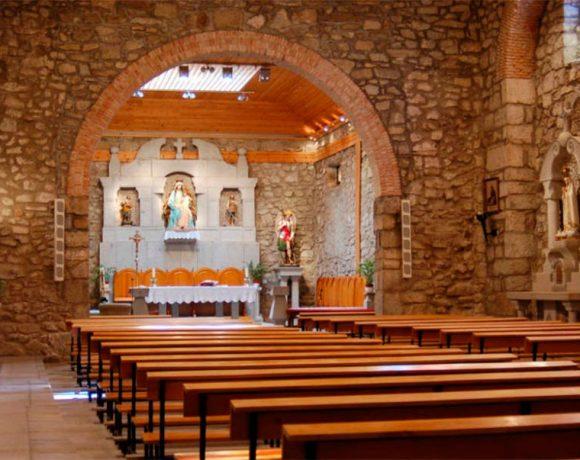 Interior de la Parroquia de San Miguel Arcángel