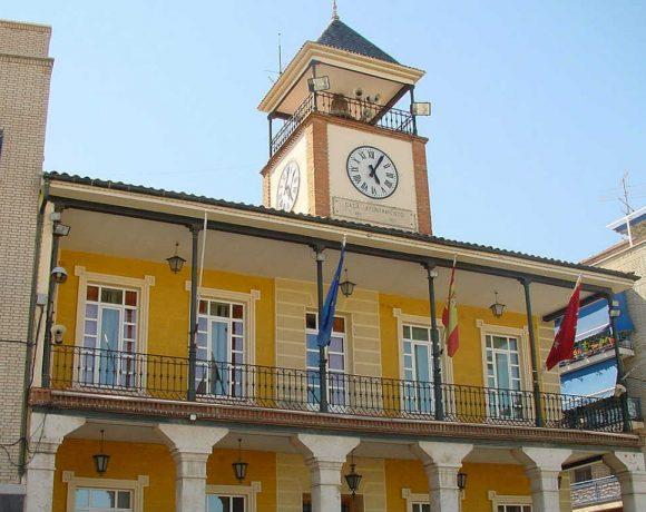 Fachada del Ayuntamiento de Morata de Tajuña
