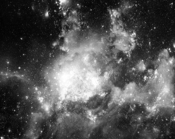 El espacio con estrellas