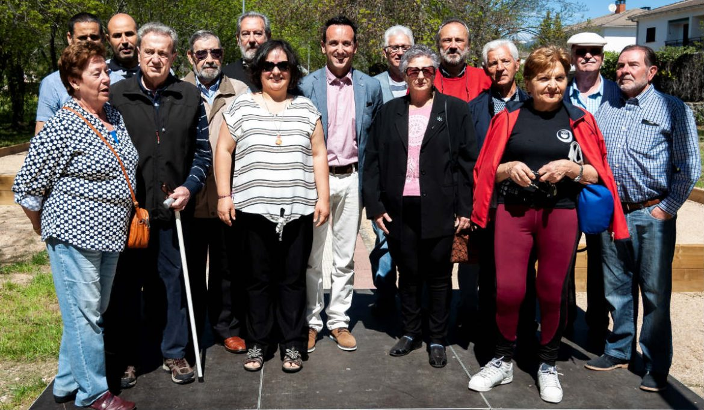 Grupo de participantes en el evento