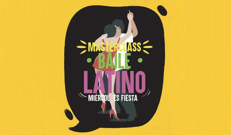 Cartel del baile latino
