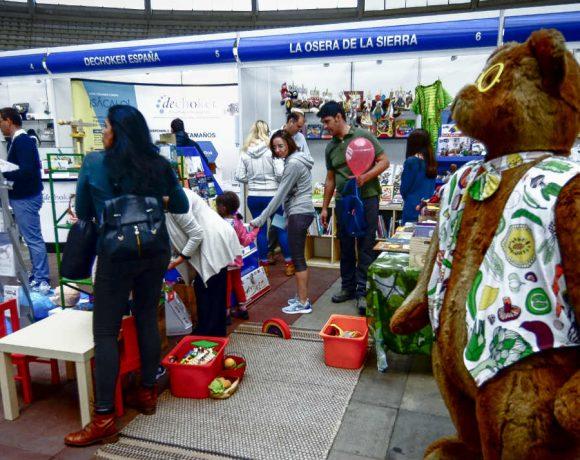 Stands Feria Comercio Moralzarzal