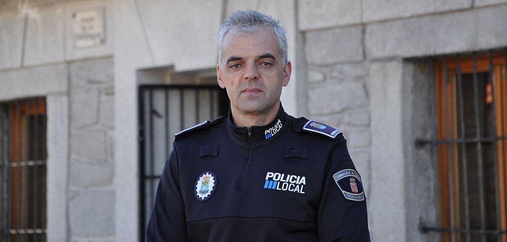 Argimiro Blanco, nuevo Jefe de Policía de Moralzarzal