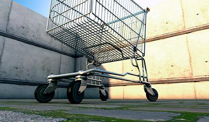 Un carro de la compra