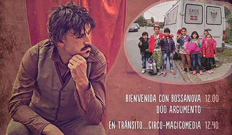 Detalle del cartel del evento