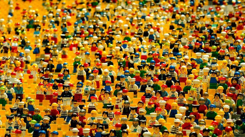 Grupo de muñequitos de Lego