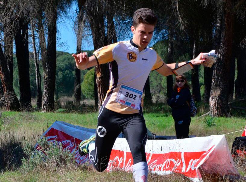 Pablo Fernández Cascales en una carrera