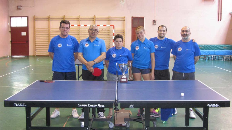 El Equipo de tenis de Mesa de Moralzarzal,