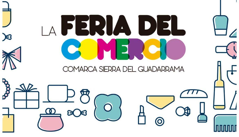 Detalle del cartel de la Feria del Comercio de Moralzarzal