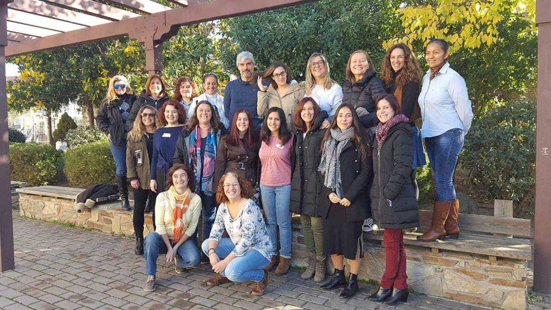 El grupo de integrantes de la Lanzadera