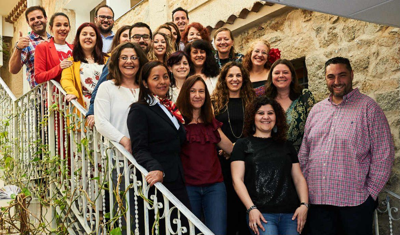 Participantes de la II Lanzadera de Empleo Moralzarzal