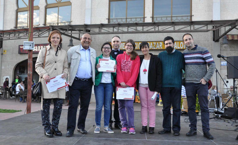Grupo de finalistas del premio don Manuel