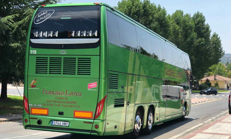 Un autobús de Francisco Larrea