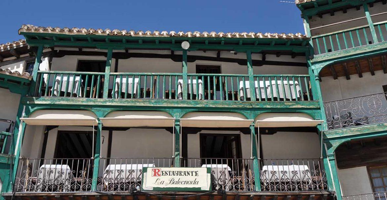 Balcones verdes en Chinchón