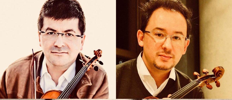 Dos violinistas