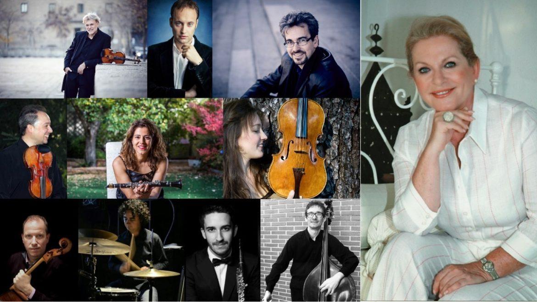 Imagen intérpretes de un concierto en Moralzarzal