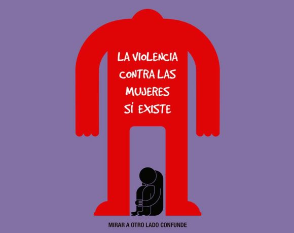 Ilustración de violencia contra las mujeres