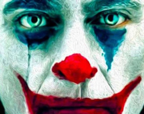 Joaquin Phoenix caracterizado con El Joker