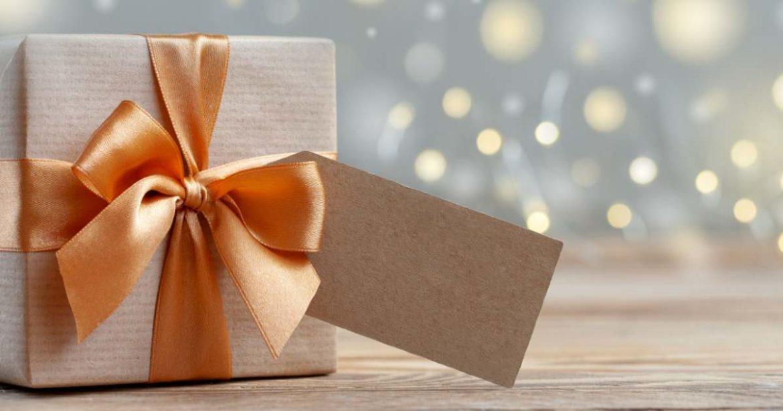caja de regalo navideño