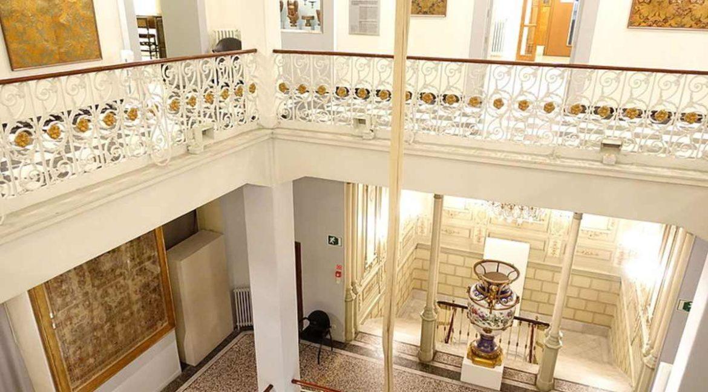 Interior del Museo de Artes Decorativas de Madrid