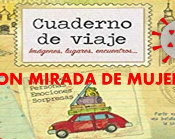 Cartel anunciador del cuaderno de viajes