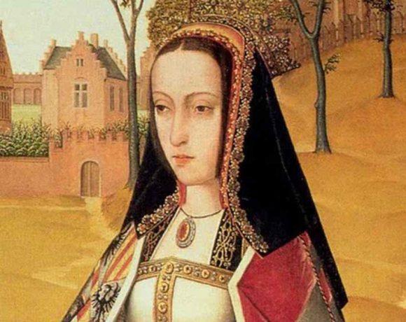 Pintura que representa a Juana la Loca