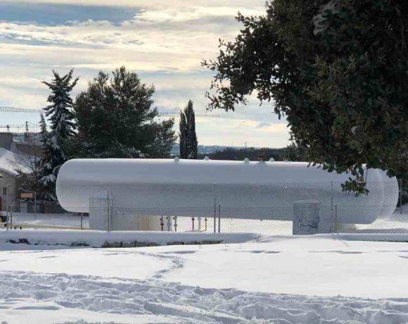 Depósito de gas en Moralzarzal