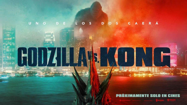 cartel promocional de la película Godzilla vs Kong