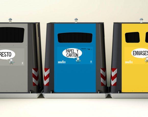 Contenedores de basura de Moralzarzal