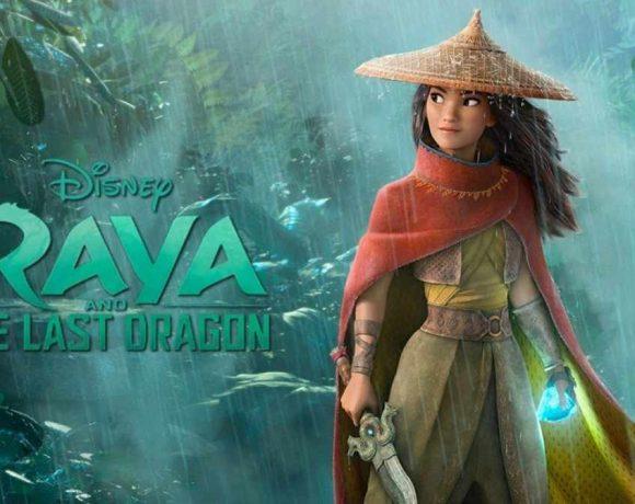 Imagen de la película Raya con la protagonista