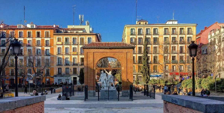 Vista general de la Plaza del 2 de Mayo