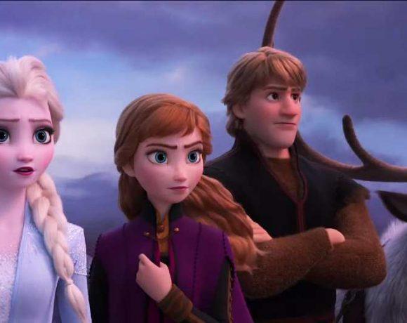 Los protagonistas de Frozen