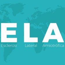 La palabra ELA sobre un mapamundi