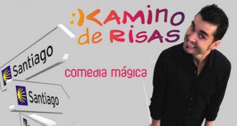 Cartel del espectáculo de magia Kamino de Risas