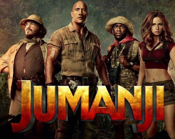 Cuatro personajes en una selva